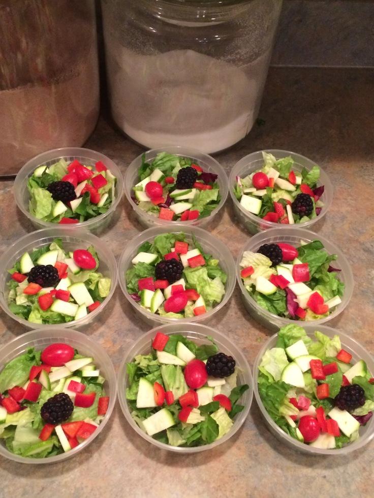 micro side salads