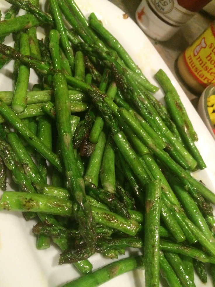 these are great with freshly sautéed asparagus as well.
